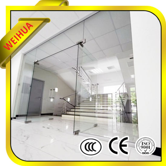 China Manufacturer 6mm 8mm 10mm 12mm Tempered Folding Glass Shower Doors pictures & photos