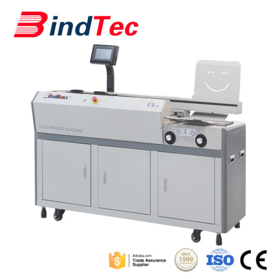 Hot Automatic Perfect Glue Book Binding Machine for Good Quality pictures & photos