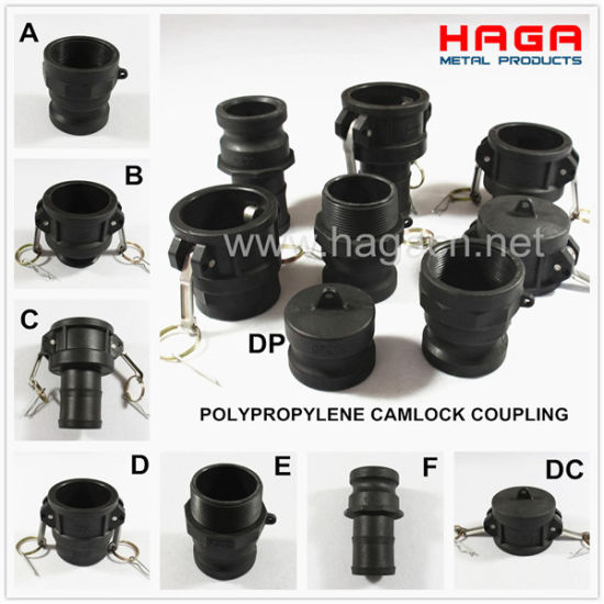 Polypropylene PP Plastic Camlock Quick Coupling pictures & photos