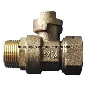 Bronze Ball Valve with Lockwing pictures & photos
