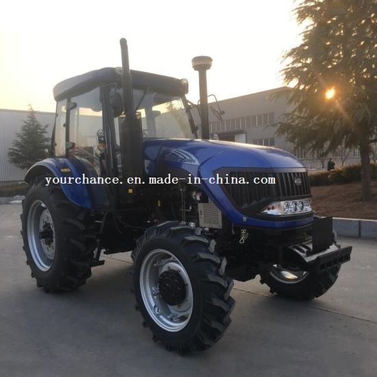 Tip Quality Farm Machine Dq954 95HP 4WD Agricultural Wheel Farm Tractor with AC Cabin for Sale pictures & photos
