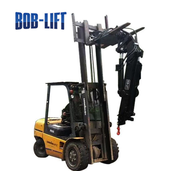Luffing Jib Boom Crane for Forklift pictures & photos