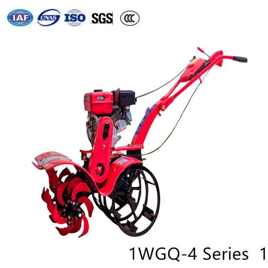 Agricultural Tillage Machine Garden Tractor Cultivator Mini Hand Rotary Gasoline Diesel Power Rotavator Tiller pictures & photos