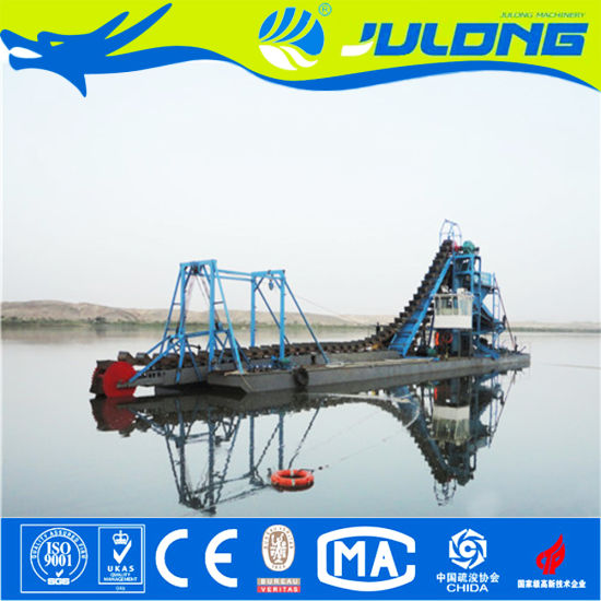 Sand Gold/Diamond Mining Machine/Gold Dredge/Bucket Chain Dredger pictures & photos