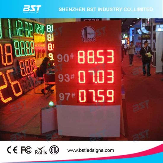 Outdoor Red Color Gas Price LED Sign pictures & photos