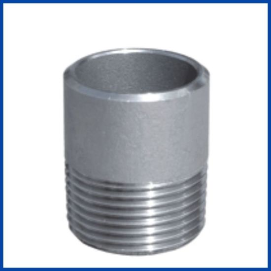 150lb Stainless Steel Sch40 Welding Nipple with Bsp/NPT/DIN Thrd pictures & photos