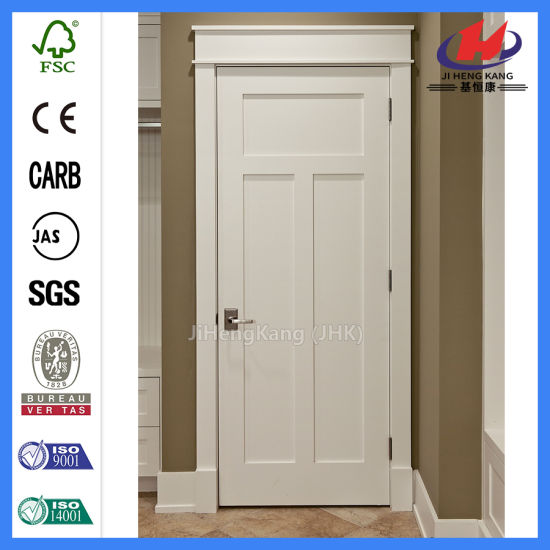 Solid Core Wood Slab Shaker Door White Door pictures & photos