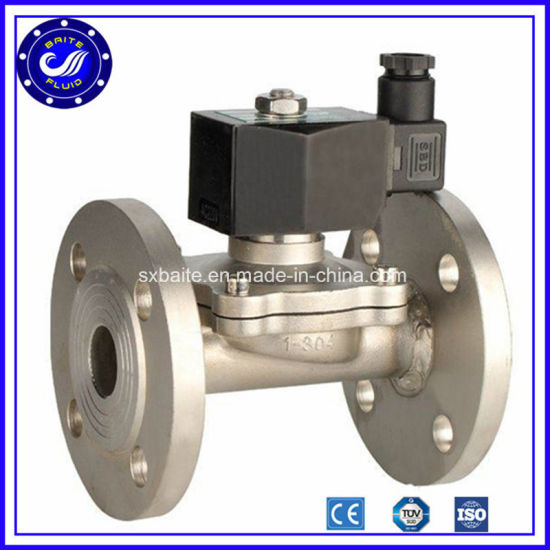 2 Inch 3 Way Stainless Steel Solenoid Valve 12V 24V 240 Volt for Irrigation Normally Closed Solenoid Valve pictures & photos