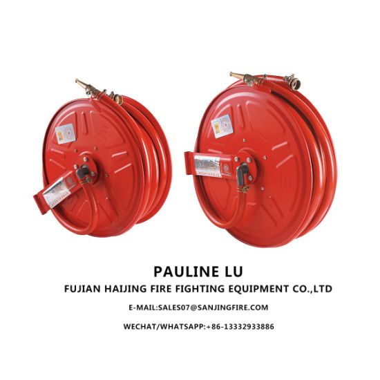 30m Stainless Steel Fire Hose Reel for Fire Fighting System pictures & photos
