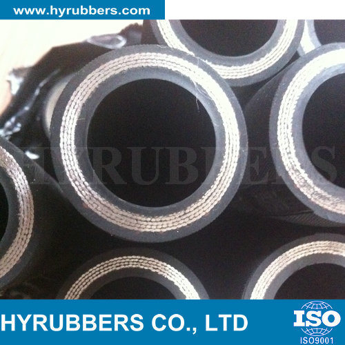 Flexible High Pressure Hydraulic Oil Hose Rubber Hose pictures & photos