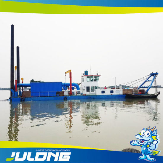 26 Inch 6000m3/Hr 18 Meters Dredge Depth Full Hydraulic Cutter Suction Dredger for Sand Dredging Port Dredging Sea Dredging pictures & photos