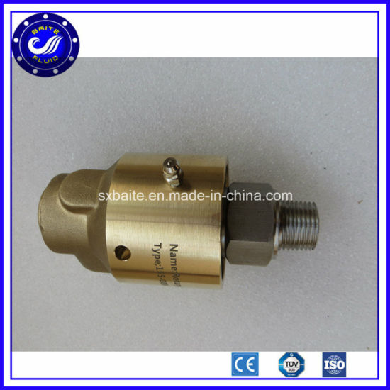 Auto Industry Water Rotary Union Connection Air Rotary Coupling pictures & photos