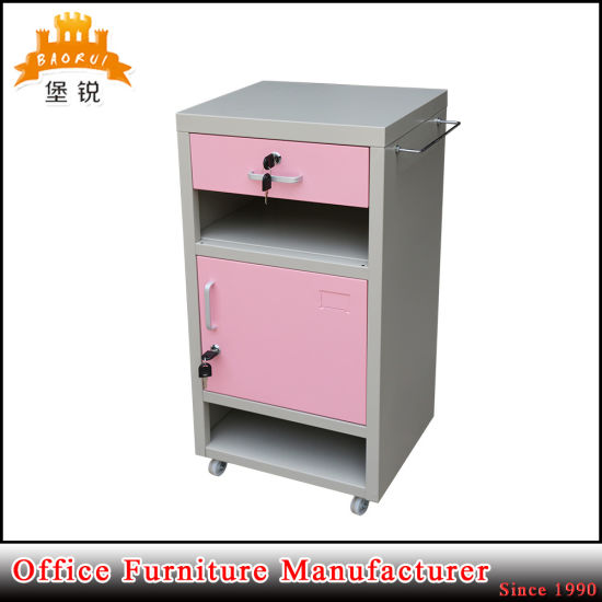 Jas-109 Factory Direct Price Economic Hospital Furniture Metal Hospital Bedside Lockers pictures & photos