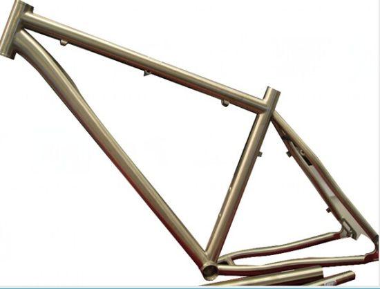 Alloy of Titanium Mountain Bike Bicycle Frame pictures & photos