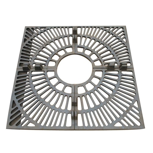 Square Frame Ductile Iron Tree Grating pictures & photos