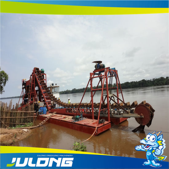 100 Cbm/Hr Bucket Chain Type River Gold Dredger pictures & photos