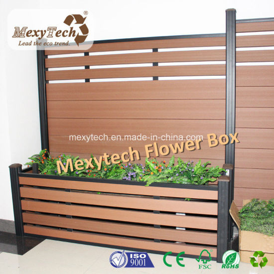 Wood Plastic Composite Electric WPC Garden Fence pictures & photos