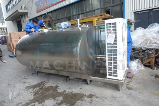 Small Dairy Milk Processing Machinery Stainless Steel Cooling Storage Tank pictures & photos