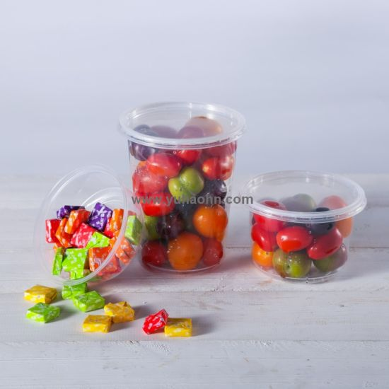 Disposable Plastic Transparent Deli Container Clear Food Grade Salad Box pictures & photos