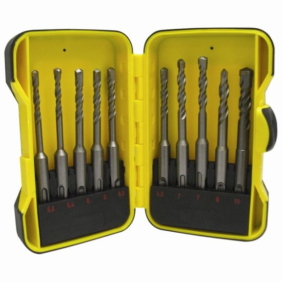 10PC SDS Drill Bit Set pictures & photos