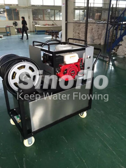 5.5HP Portable Gasoline Engine Water Mist Fire Extinguishing Pump Sets with Wheels pictures & photos