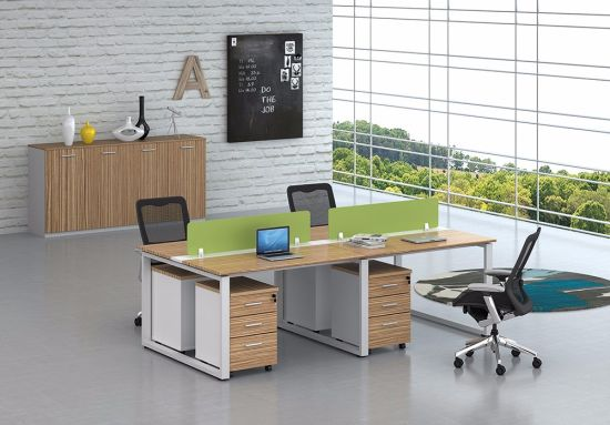 Office Furniture Metal Steel Office Staff Workstation Table Frame with Ht11-3 pictures & photos