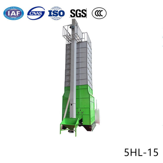 15 T/Batch Electric Control Mixed Flow Circulation Cereal Dryer pictures & photos