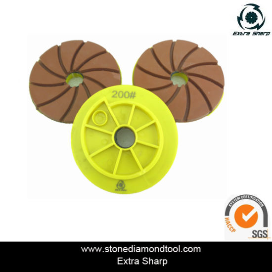 Chinese Supplier 100mm Snail Polishing Pads Polisher pictures & photos