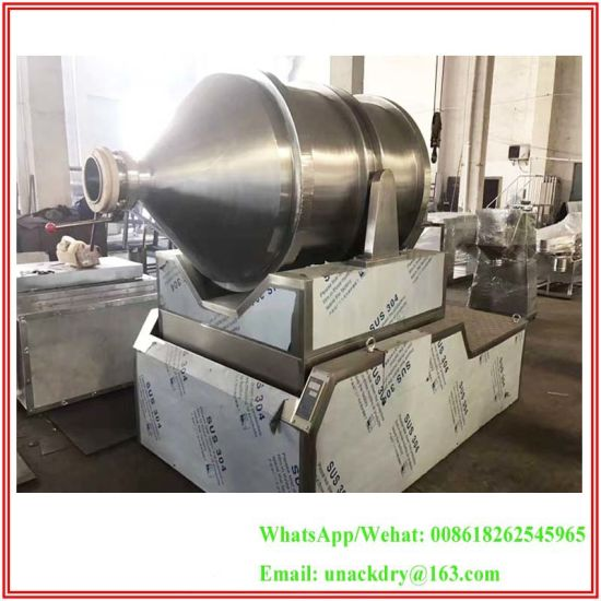 Stainless Steel 2D Movement Mixer for Starch/ Fertilizer/ Flake /Powder/ Granule/ Granulated pictures & photos