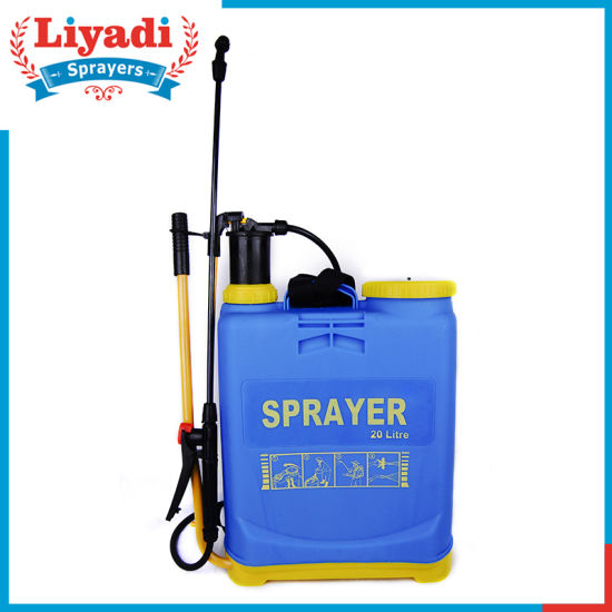 20 Liter Matabi Hand Agriculture Manual Hand Pressure Pump Backpack Knapsack Plastic Sprayer pictures & photos