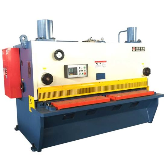 Sheet Metal Cutting Machine Hydraulic Shearing Guillotine pictures & photos