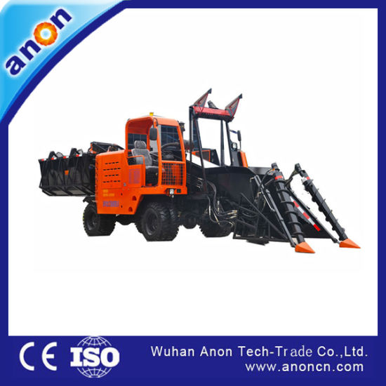 Anon Whole Stalk Sugarcane Harvester in Thailand for Sale pictures & photos