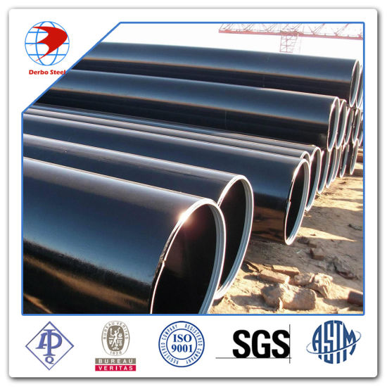 Dn250 Ms Seamless Steel Pipe ASTM A106 Gr. B pictures & photos