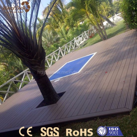 European Customized Easy to Install Outdoor WPC Flooring for Pool pictures & photos