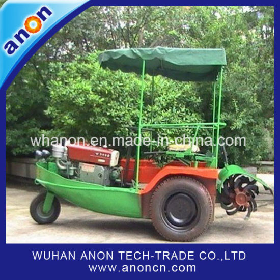 Anon Boat Tractor Trucks Rice Farming Paddy Field Tillage Machine pictures & photos