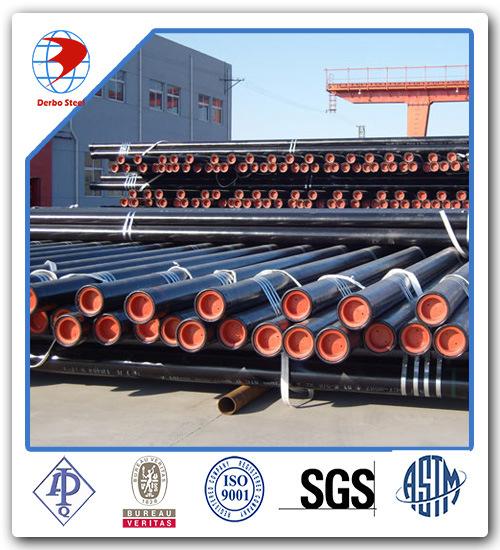 API 5L A106 A53 Grade a, Grade B, Grade C Carbon Steel Seamless Pipe pictures & photos