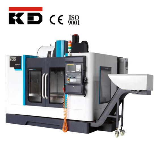 Vmc600L Fanuc System CNC Vertical Milling Machine Center pictures & photos