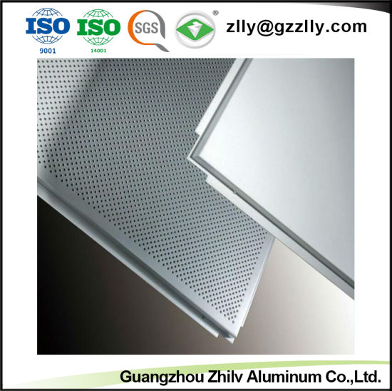 Hot Selling Perforated Spray Powder Ceiling of Diagonal Triangles Punching pictures & photos