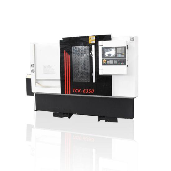Tck6350 CNC Machine with 4 Axis CNC Lathe Machine Horizontal Heavy Duty CNC Metal Precision pictures & photos