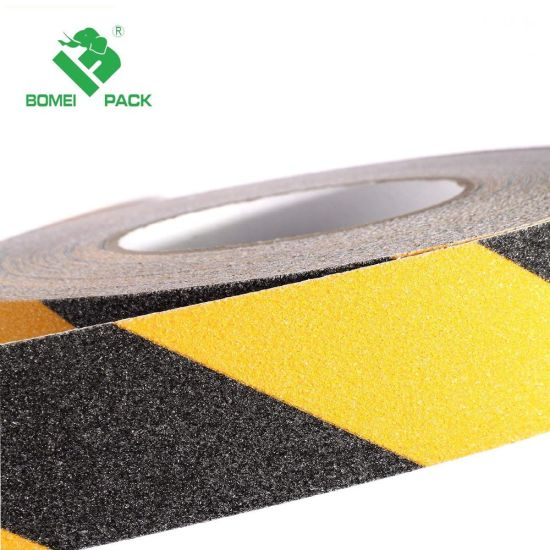 Stair Step Clear Black Grip for Non-Skid Walk Adhesive Non-Slip Stair Tread Safety Tape Strip pictures & photos