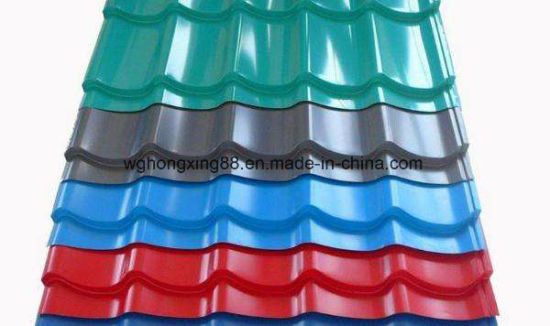 Metal Roofing Gi Corrugated Steel Sheet pictures & photos
