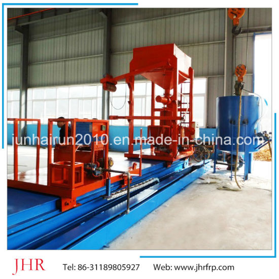 FRP GRP Horizontal Tank Winding Equipment pictures & photos