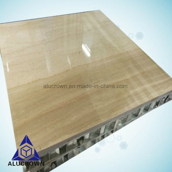Quality Assurance Wood Texture Marble Popular Honeycomb Panel pictures & photos