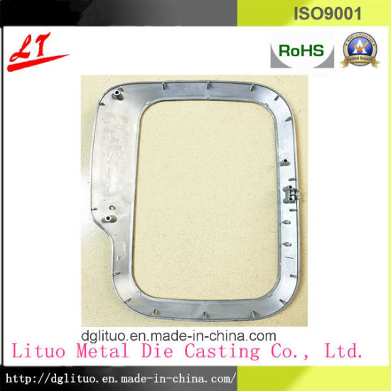 Hardware Aluminum Alloy Die Casting Metal Part for Motor Frame pictures & photos