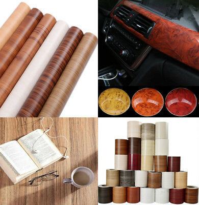 Car Matt Self-Adhesive Wood Grain Textured Vinyl Auto Wrapping Roll Sticker Decal Film pictures & photos