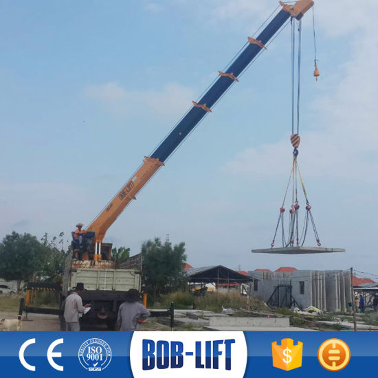 Heavy Duty Straight Arm Crane Mounted Truck Sq16SA4 pictures & photos