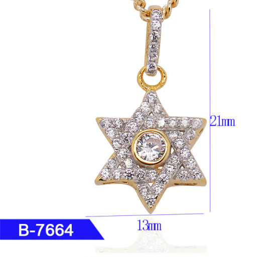 New Model 925 Sterling Silver or Brass Personalized Jewelry CZ Pendant for Sale pictures & photos