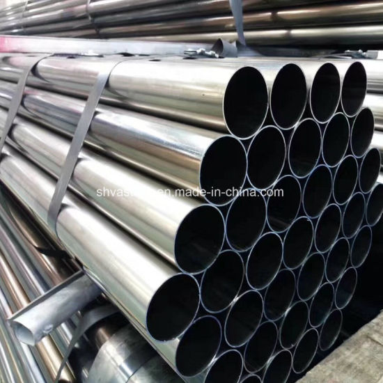 ASTM A53 Galvanized Iron Round Pipe for Building pictures & photos