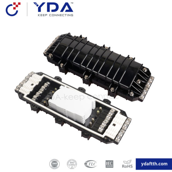 FTTH Yd-Psc114 4 Inlet 4 Outlet 96core Horizontal Type Fiber Optic Splice Closure pictures & photos