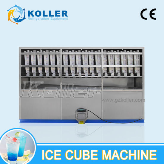 5 Tons/24h Automatic Cube Ice Making Machine with Packing System pictures & photos